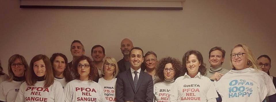 Tav, Pedemontana e Pfas: Di Maio in Veneto incontra le associazioni. Berti e Brusco presentano la legge anti Pfas