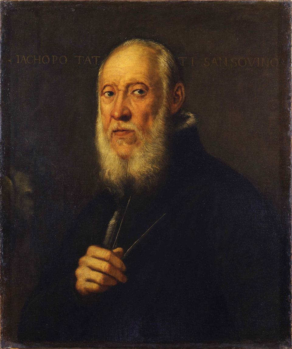 tinto Ritratto di Jacopo Sansovino - Uffizi