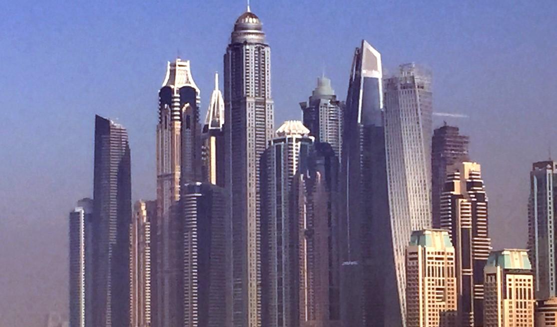 6. Il quartiere di Dubai marina