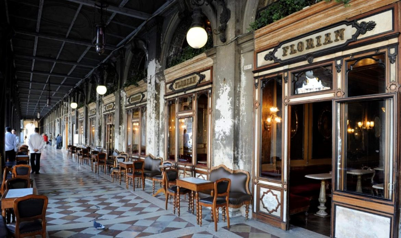 Cibic è l'artista scelto dal Caffè Florian in occasione di Biennale Architettura 2018