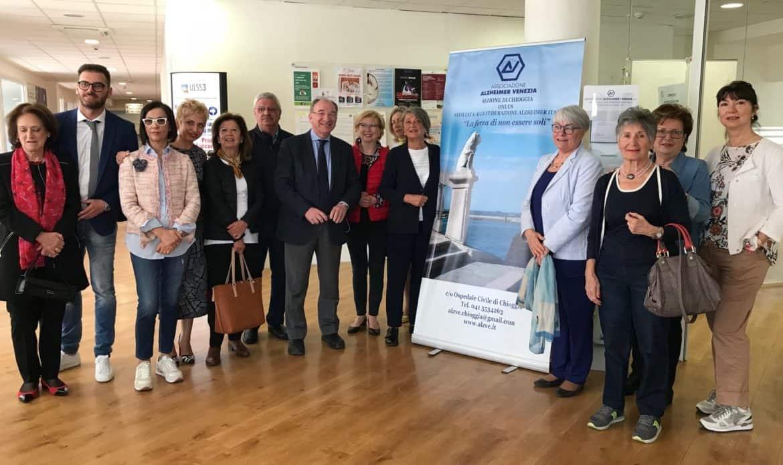 A Chioggia nasce l'Associazione di volontariato Alzheimer con un punto di ascolto in Ospedale