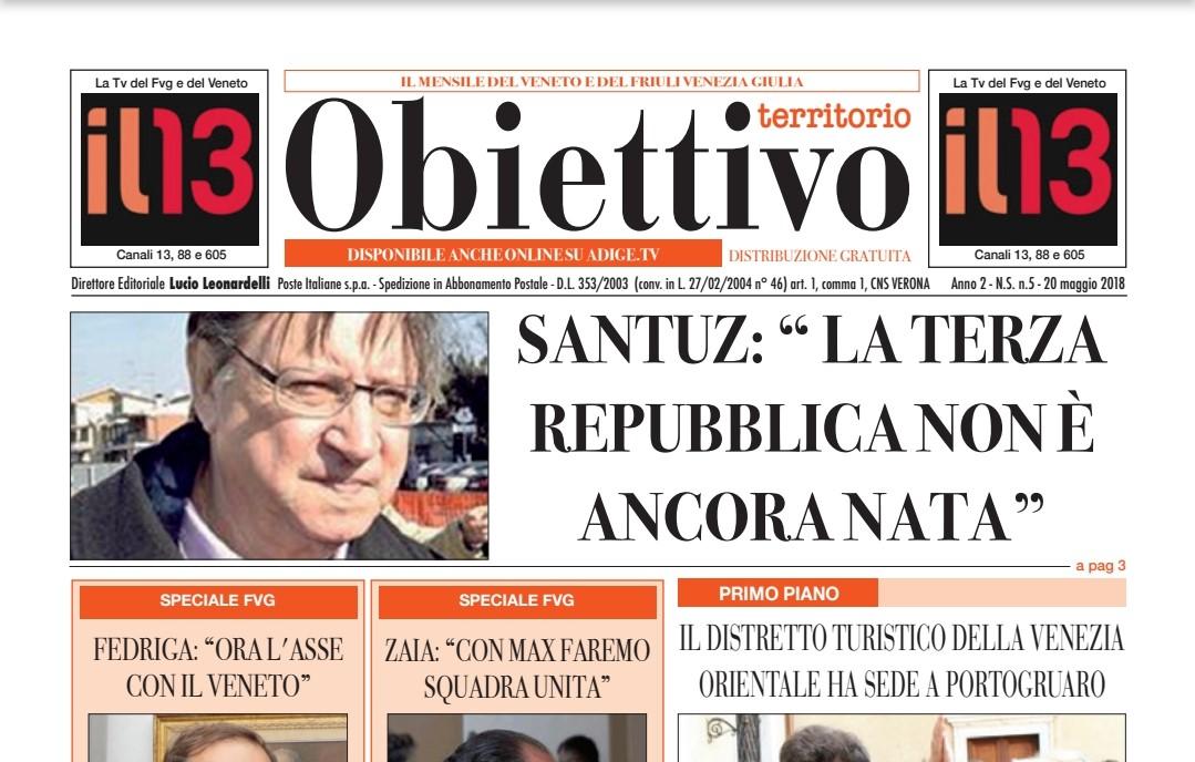 """La bacheca: """"Obiettivo territorio"""", il mensile su Friuli VG e Veneto"""