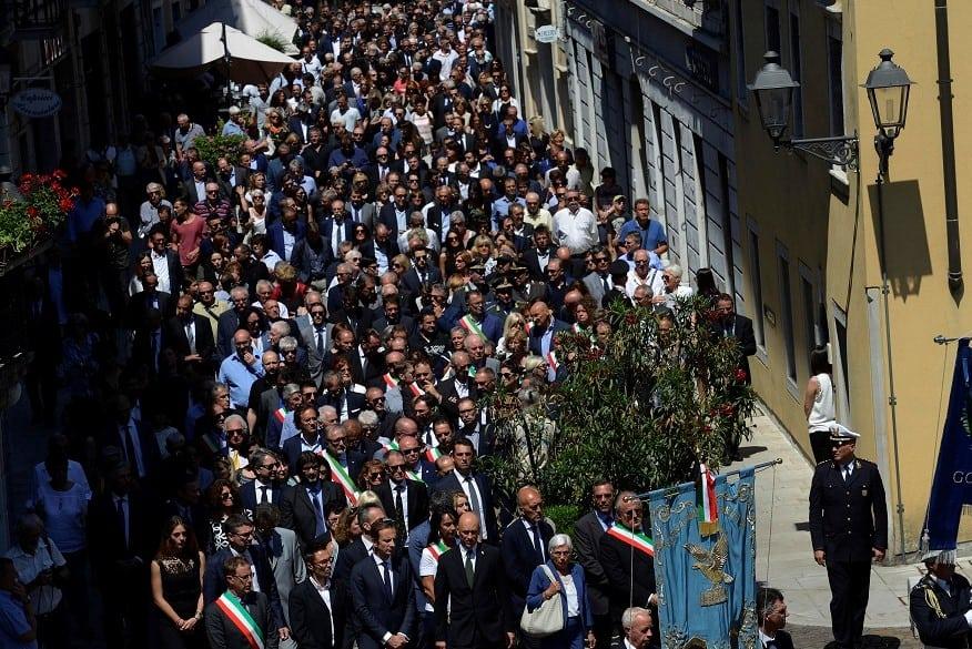 """Funerali Romoli, """"gelo"""" tra la famiglia e Forza Italia"""