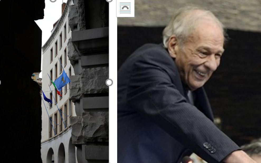 Friuli VG. Addio a Romoli, bandiere a mezz'asta e 3 giorni di lutto