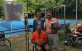 L'Irccs San Camillo ha un nuovo campo da tennis