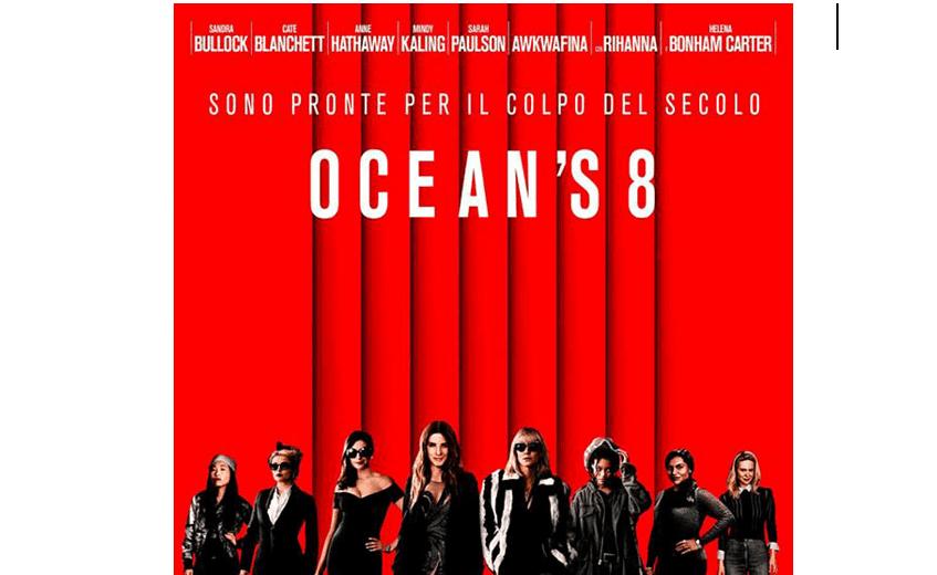 Ocean's 8 cast stellare e un trionfo di diamanti