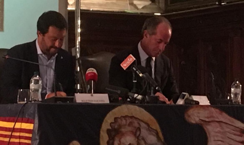 Salvini ospite di Zaia: avanti con la Pedemontana il modello veneto funziona