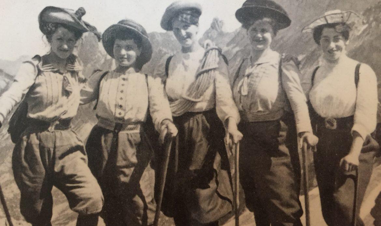 Per scalare le Alpi le donne dovettero vincere i pregiudizi della morale, della medicina e del costume