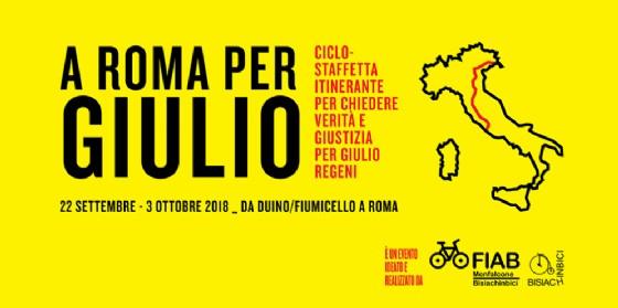 Una ciclostaffetta da Duino a Roma per Giulio Regeni. Incontro tra Fico e il presidente egiziano
