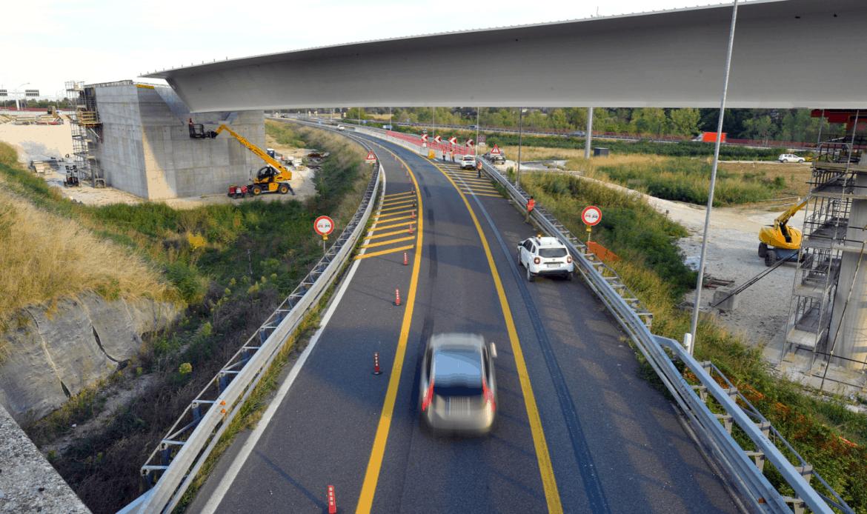 A4, completato il varo del nuovo ponte sul nodo di Palmanova