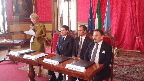 FVG, il premier Conte e il governatore Fedriga insieme per migliorare l'accessibilità delle persone disabili ai luoghi di cultura