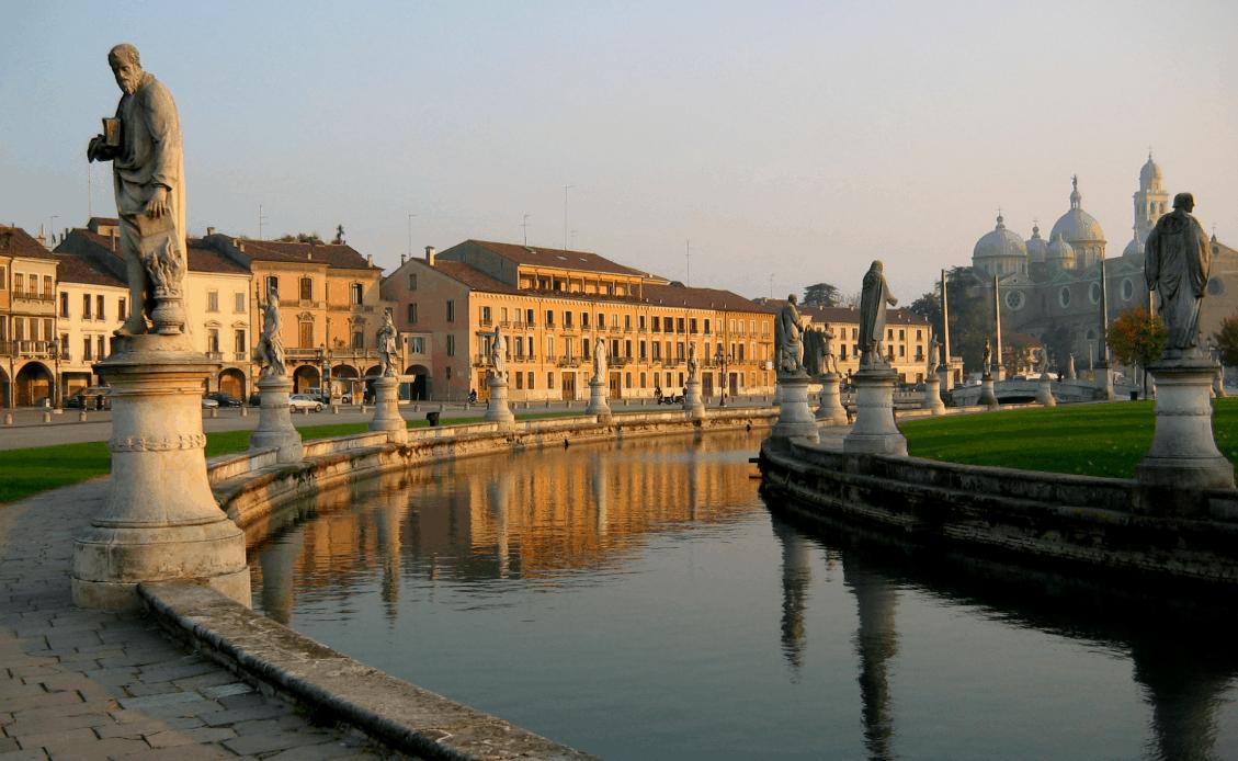 A Padova una delle piazze più belle d'Europa?