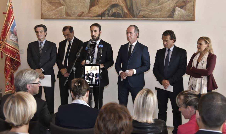 Olimpiadi 2026, ufficializzata da Zaia, Fontana, Sala e Ghedina la candidatura Milano/Cortina