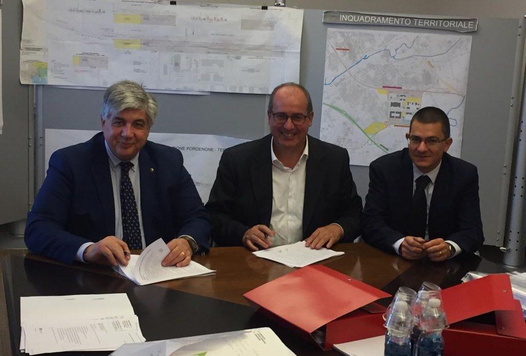 Interporto di Pordenone, ulteriore passo avanti per il terminal ferroviario