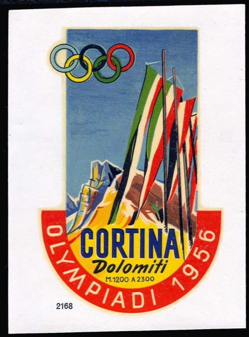5 Cortina giochi olimpici 1956-W-14-a