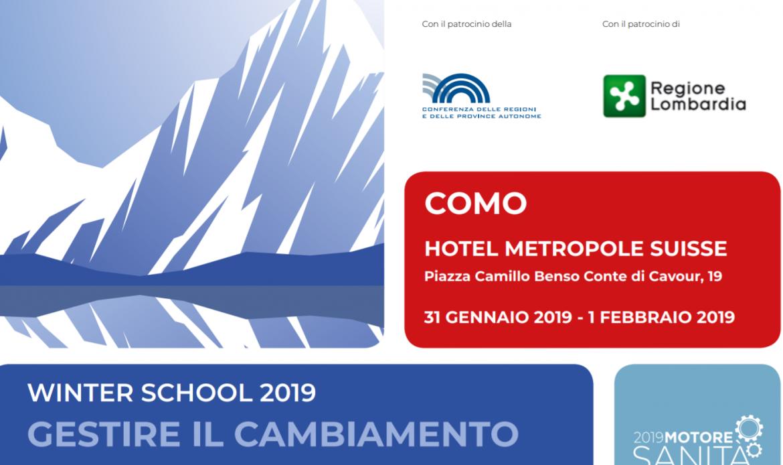 Winter School, come gestire il cambiamento in Sanità. Veneto protagonista