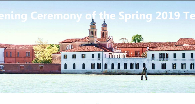 La Venice International University inaugura il semestre primaverile del Globalization Program