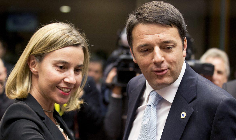 Europa-Italia: quel postumo pentimento di Renzi per avere scelto la Mogherini