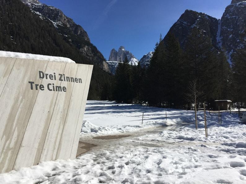 La poca neve dell'inverno e la sete delle montagne