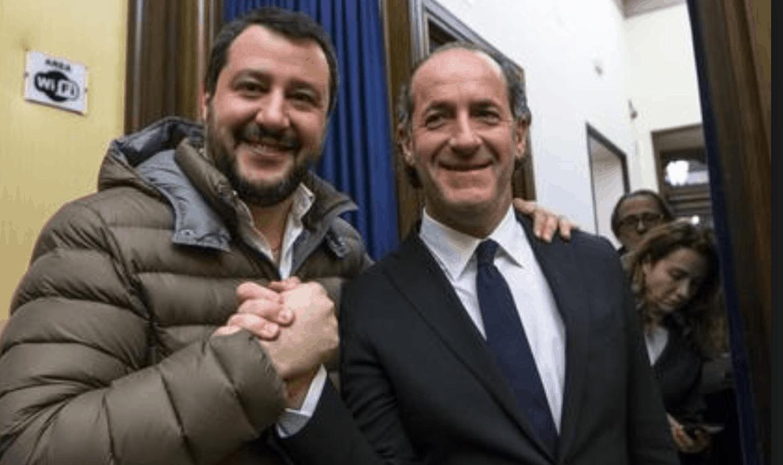 Veneto. Zaia e l'autonomia: siamo in buone mani, Conte e Salvini troveranno la quadra