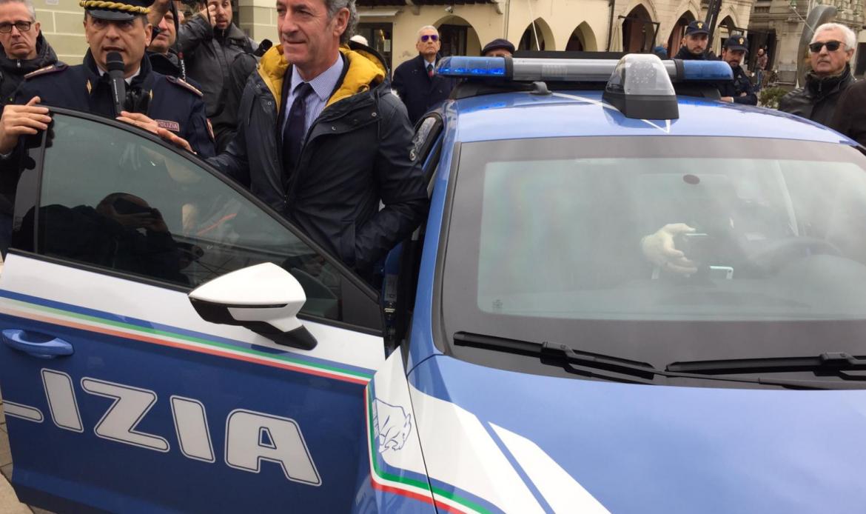 """""""Progetto Mercurio"""", volanti della Polizia con intelligenza artificiale. Zaia: """"Legalità e Sicurezza"""""""
