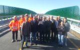 Nuovo cavalcavia realizzato da Autovie nell'ambito dei lavori per la terza corsia