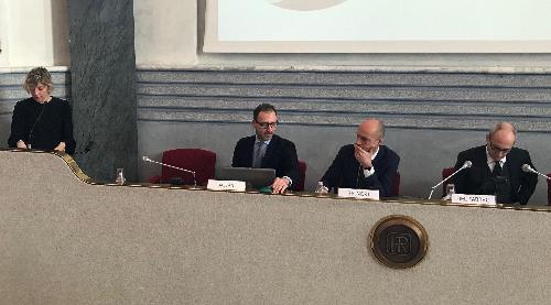 Seganti al vertice della Friulia,  l'assessore Zilli annuncia l'arrivo dei mini bond