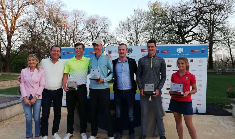 Golf. A Kristian Burkelca e Giulia Bellini il Trofeo Città di Castelfranco