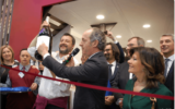 Vinitaly. Lo stand del Veneto inaugurato con 40mila bottiglie di solidarietà per le vittime della tempesta Vaia