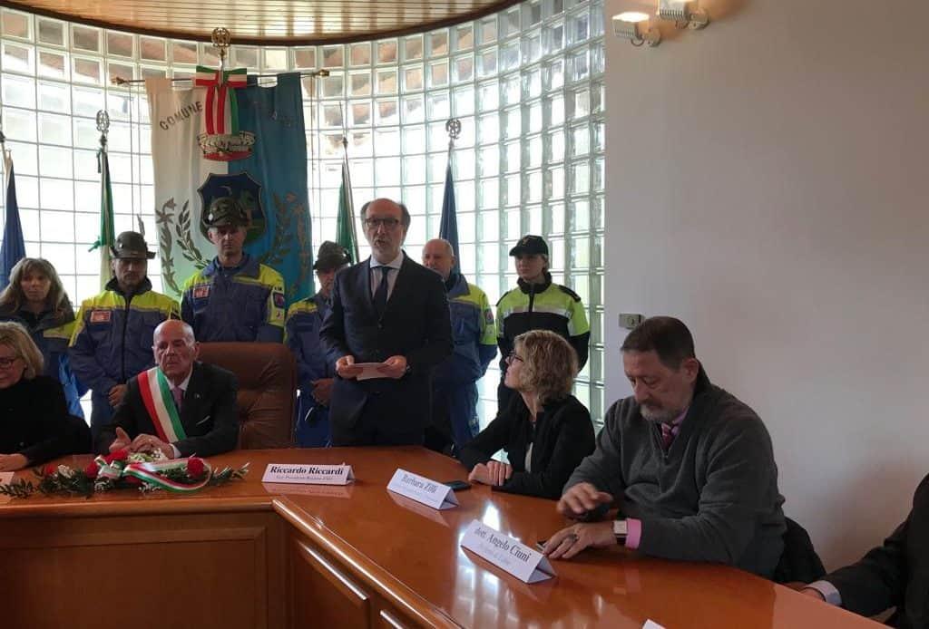 Celebrato a Montenars il 43° anniversario del terremoto. Una sala intitolata a Zamberletti