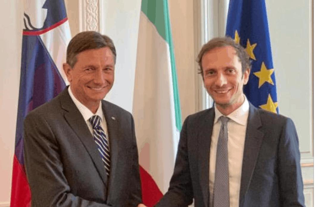Fedriga incontra il presidente della Repubblica di Slovenia per parlare di immigrazione