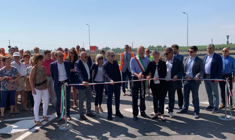 Una rotonda verso il mare: inaugurata la rotatoria sulla strada per Bibione
