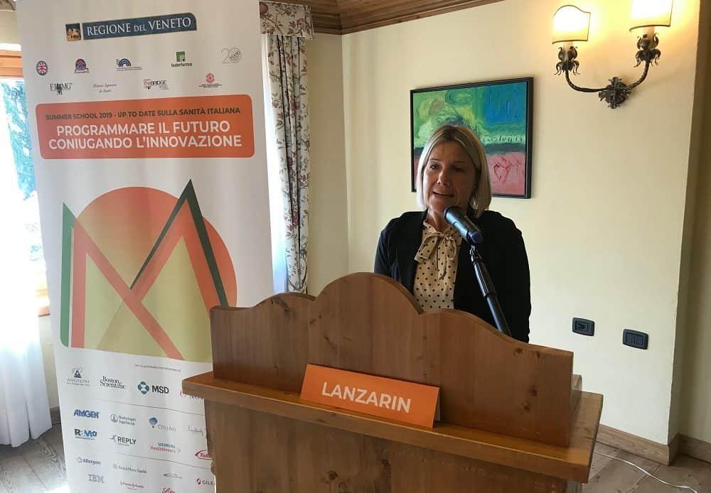 """Monito dell'assessore Lanzarin: """"La Sanità entri come priorità nell'agenda politica nazionale"""""""