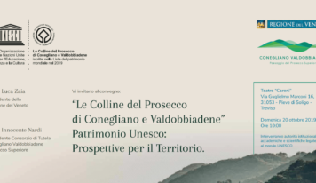 """Le colline del Prosecco patrimonio Unesco. Zaia: """"Con la firma dell'intesa inizia il percorso"""""""