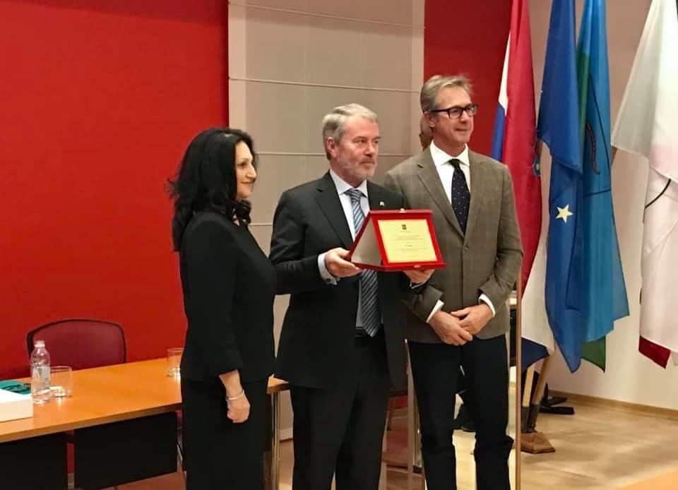 In Istria riconoscimento a Beggiato per i 25 anni della sua legge