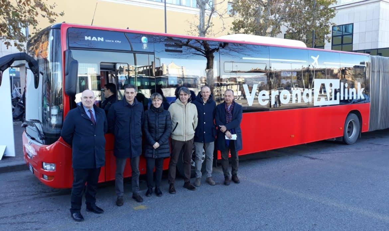 """Trasporti pubblici, al via il servizio """"Verona Airlink"""""""