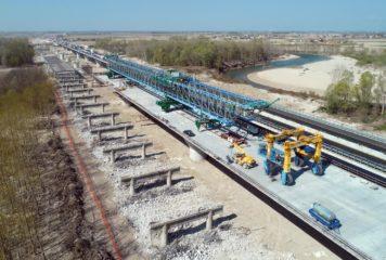 La terza corsia si fa strada, aperto il secondo viadotto sul Tagliamento