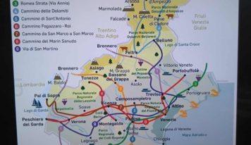 """Turismo ecosostenibile, Itinerari veneti ispirati al """"Cammino di Santiago"""""""