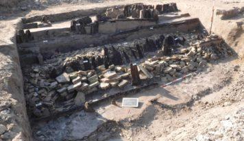 Portogruaro, una difesa spondale a. C. scoperta durante i lavori per la 3. terza