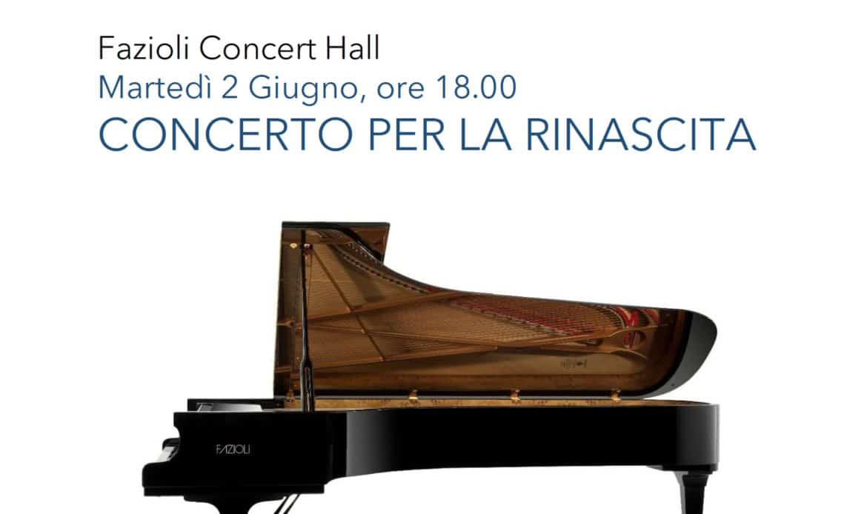 Sacile nella Fazioli Concert Hall il 2 giugno il Concerto della Rinascita organizzato da Confindustria Alto Adriatico