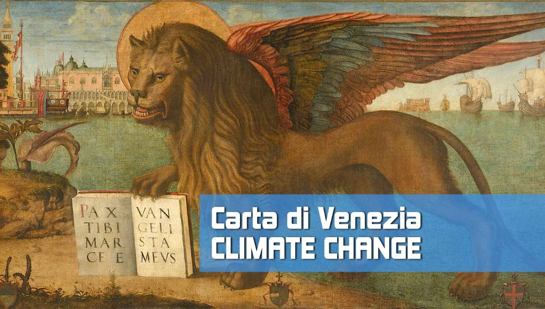 """""""Carta di Venezia Climate Change"""" primo studio realizzato da una Commissione di ingegneri esperti"""