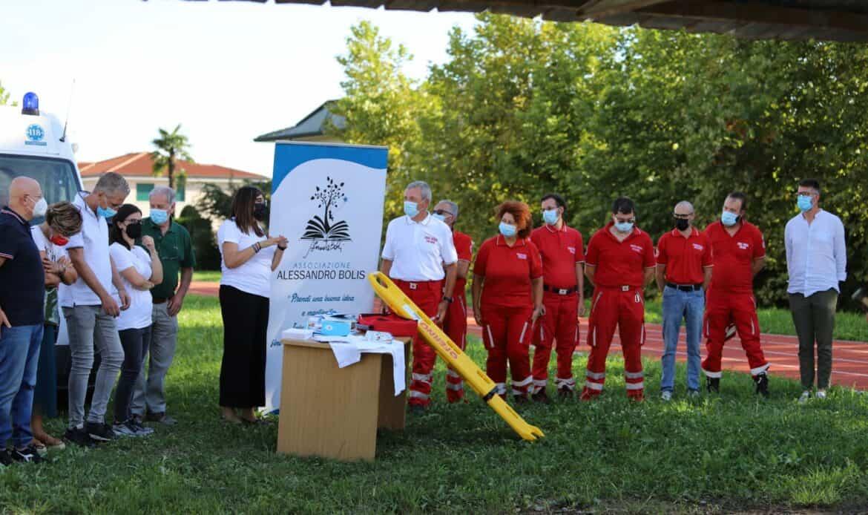 Associazione Bolis, in dono una super barella per la Croce Rossa di Carmignano. In autunno arriva la nuova ambulanza